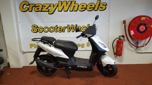 Kymco Agility Delivery wit 2013
