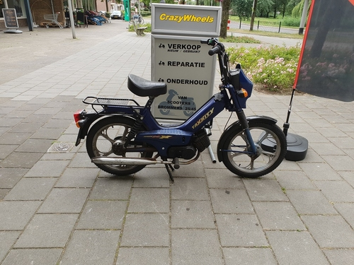 Tomos Taxxity donker blauw
