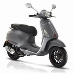 Vespa Sprint mat grijs model 2018